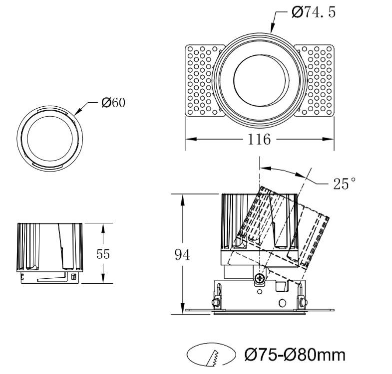 3RT 10-12W size