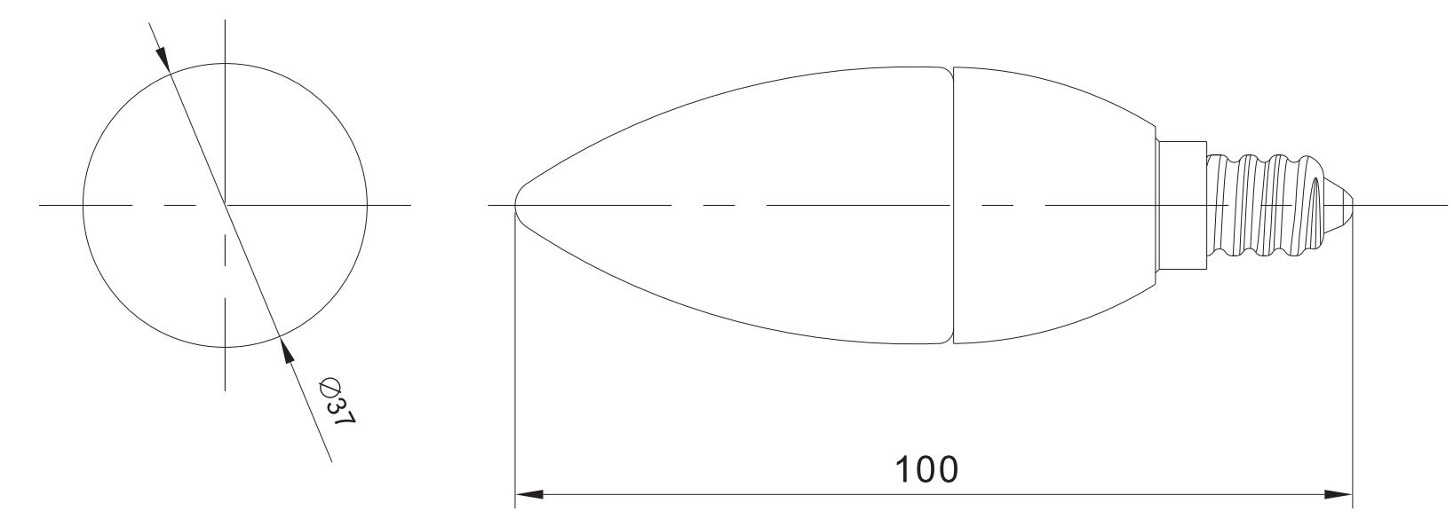 C37 Smart size